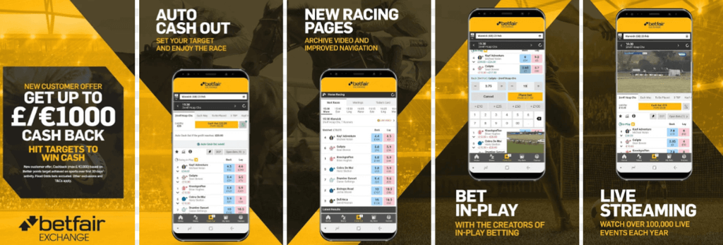 betfair mobile функции